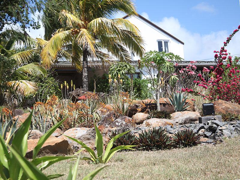 Le jardin, chez Résidence Foulsafat