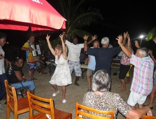 Visite des musiciens et chanteurs Seychellois