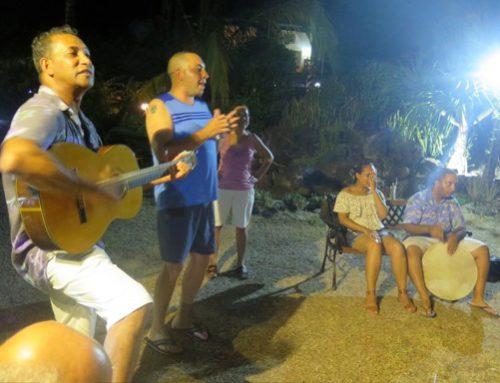 Soiree animée par un groupe de l'île Maurice