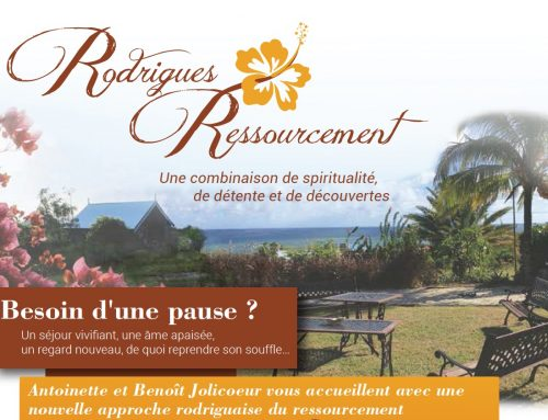 Rodrigues Ressourcement: Une combinaison de spiritualité, de détente et de découvertes